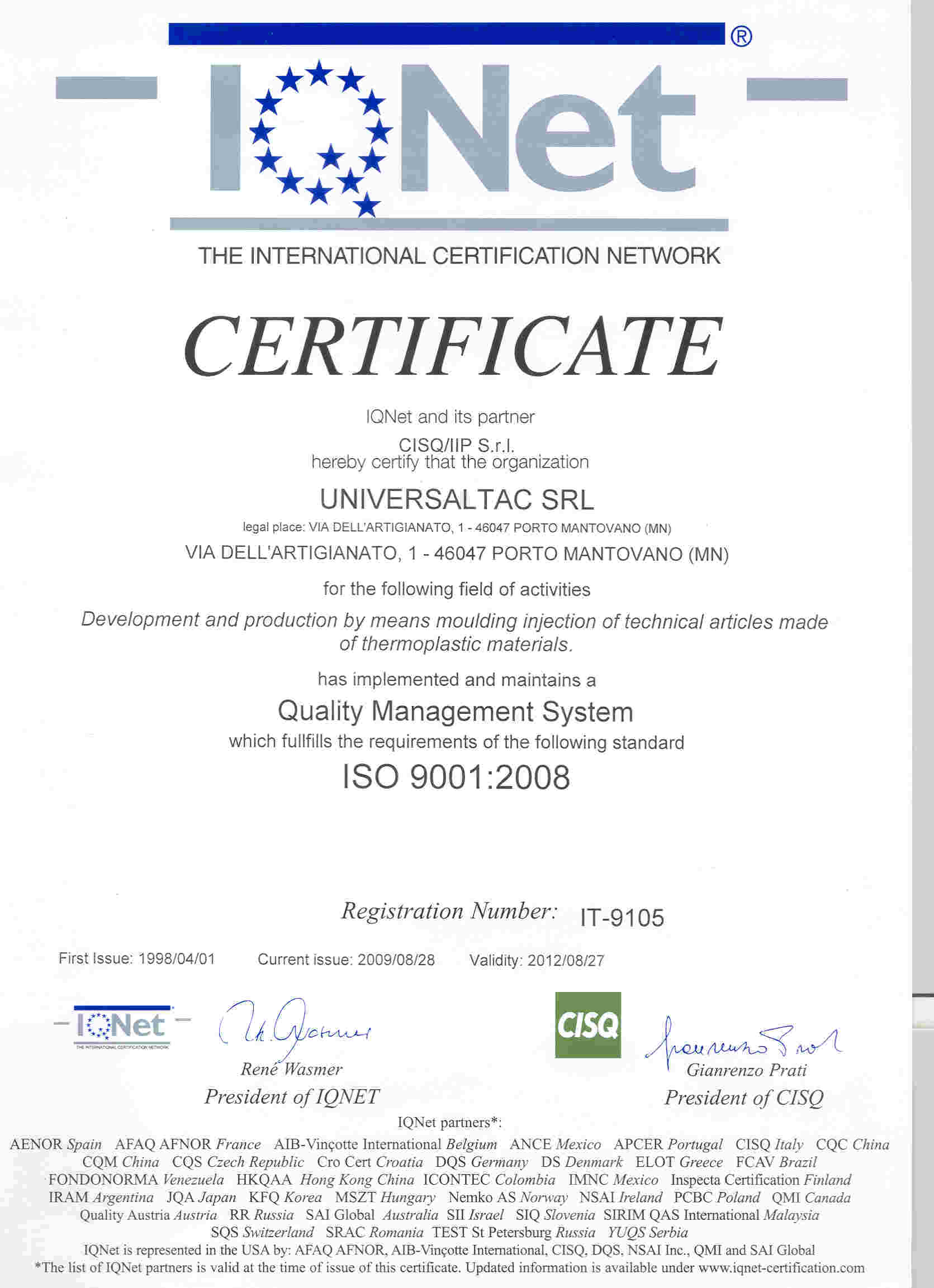 Universaltac in order to define how to best ensure the achievement of the desired quality monitoring of customer satisfaction is a measure of the performance of the 1betcityfo Choice Image